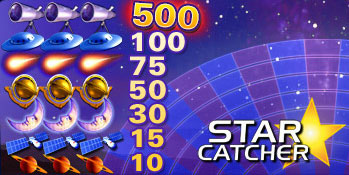 Star Catcher™ Slot Machine Game to Play Free in Cryptologics Online Casinos