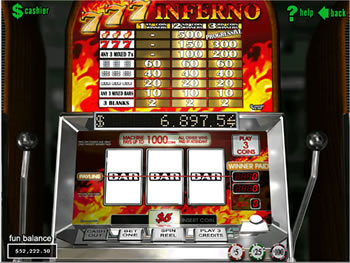 Triple Inferno™ Slot Machine Game to Play Free in AshGamings Online Casinos