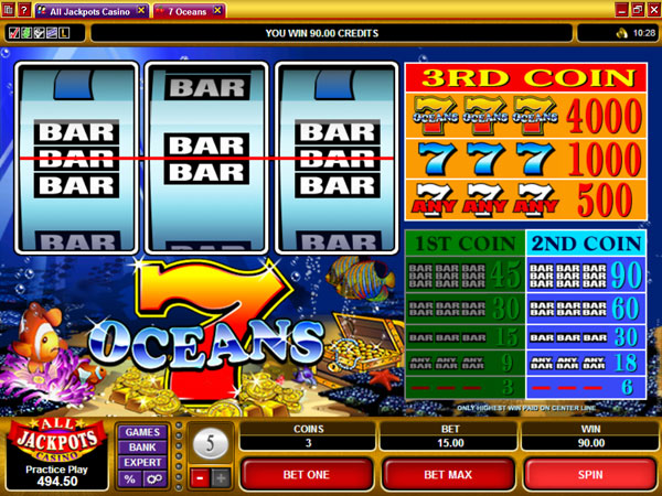 7 Oceans™ Slot Machine Game to Play Free in Microgamings Online Casinos