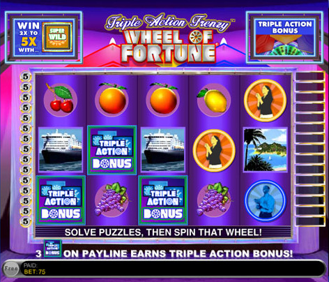 free slots wheel of fortune