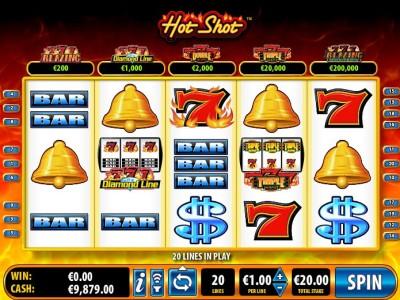 Hot Shot Slots Free Coins