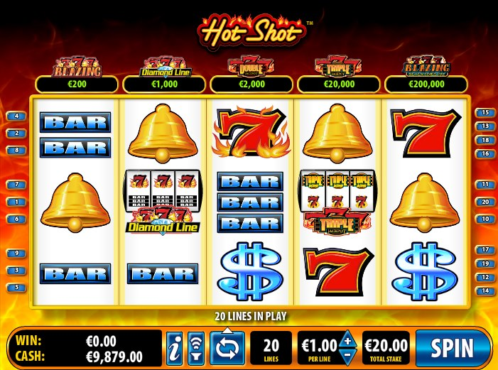 video slots online casino sizzling games