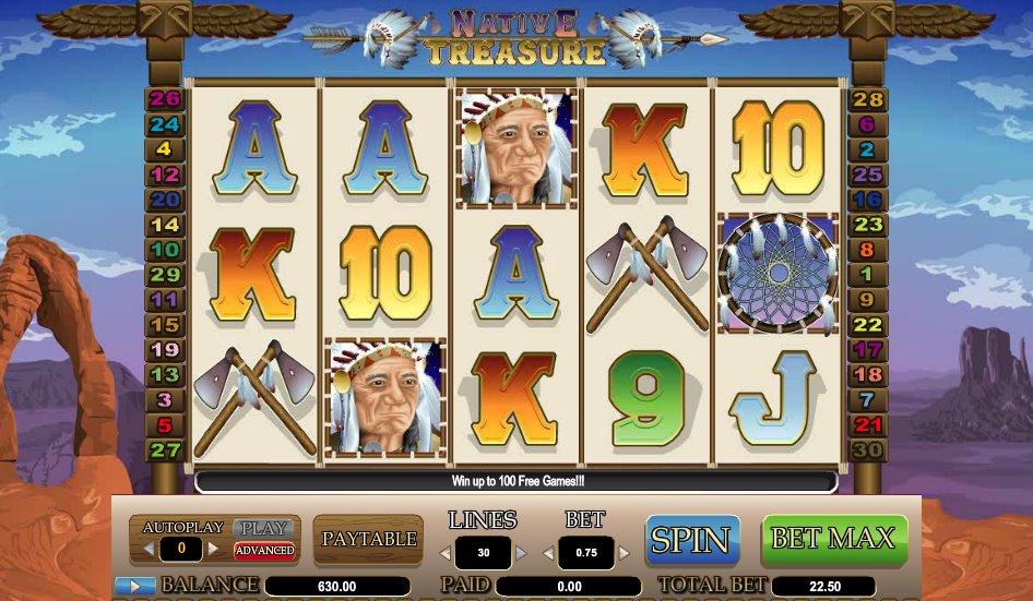 Spiele Native Treasure - Video Slots Online