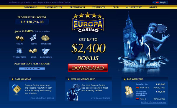 europa casino review