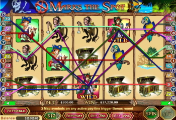 X Marks the Spot Slot™ Slot Machine Game to Play Free in WGSs Online Casinos
